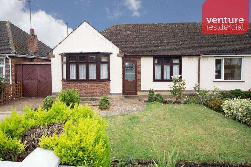3 Bedrooms Semi Detached Bungalow for sale in Ryecroft Way, Luton, LU2 7TU