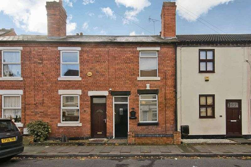 2 Bedrooms Terraced House for sale in Broad Street, Bridgetown, Cannock