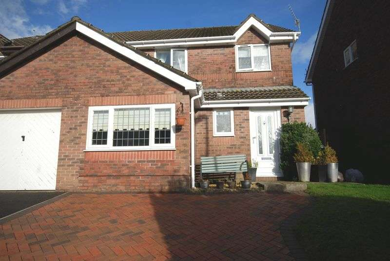 3 Bedrooms Semi Detached House for sale in 71 Priory Court, Bryncoch, Neath, SA10 7RZ