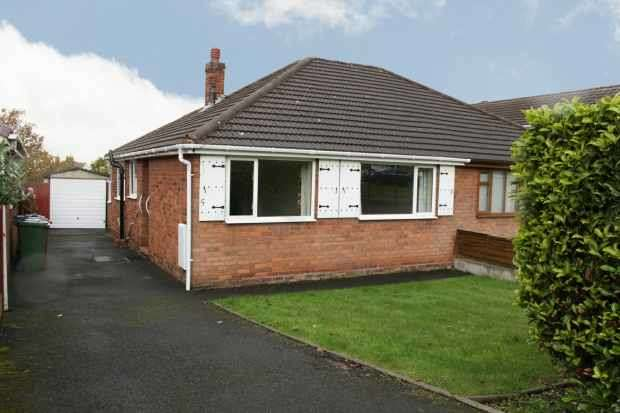 2 Bedrooms Semi Detached Bungalow for sale in George Street, Cannock, Staffordshire, WS12 1BJ