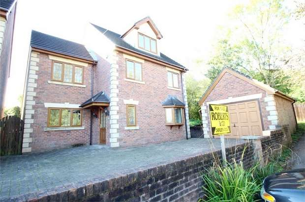 4 Bedrooms Detached House for sale in Westfield Close, Caerleon, NEWPORT