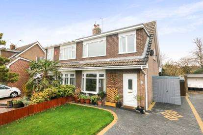 3 Bedrooms Semi Detached House for sale in Bryn Clwyd, Mynydd Isa, Mold, Flintshire, CH7