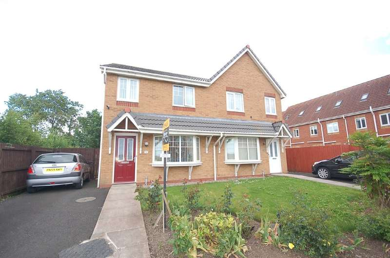 4 Bedrooms Semi Detached House for sale in Coopers Way, Blackpool