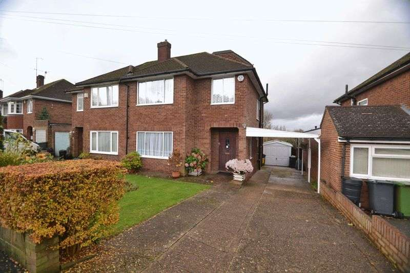 4 Bedrooms Semi Detached House for sale in Carver Hill Road, High Wycombe