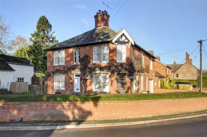 5 Bedrooms Detached House for sale in High Street, Netheravon, Salisbury, Wiltshire, SP4