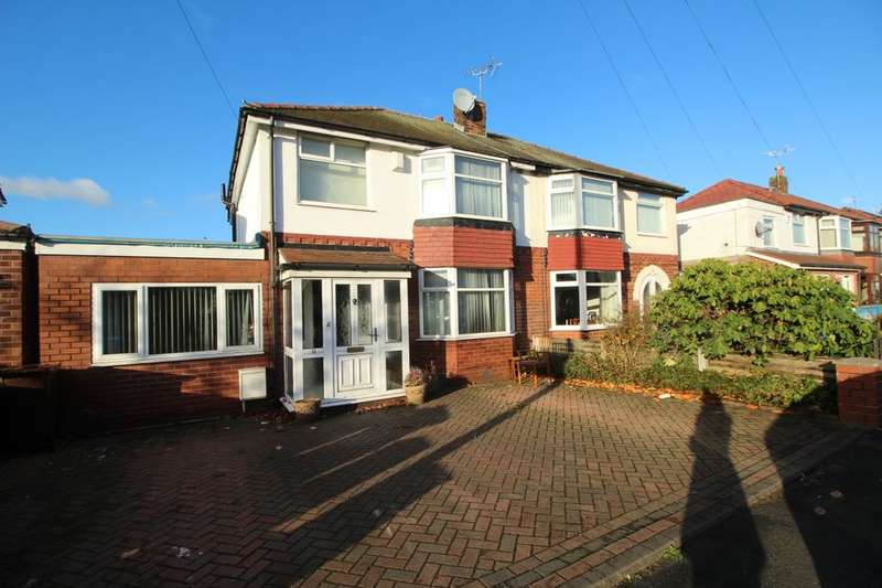 3 Bedrooms Semi Detached House for sale in Alexander Drive, Bury, BL9