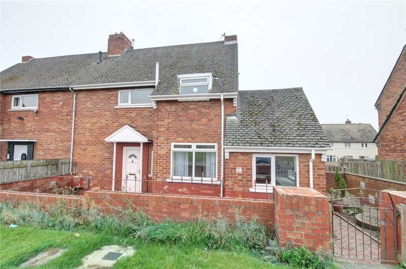 3 Bedrooms Semi Detached House for sale in Whitehouse Court, Ushaw Moor, Durham, DH7