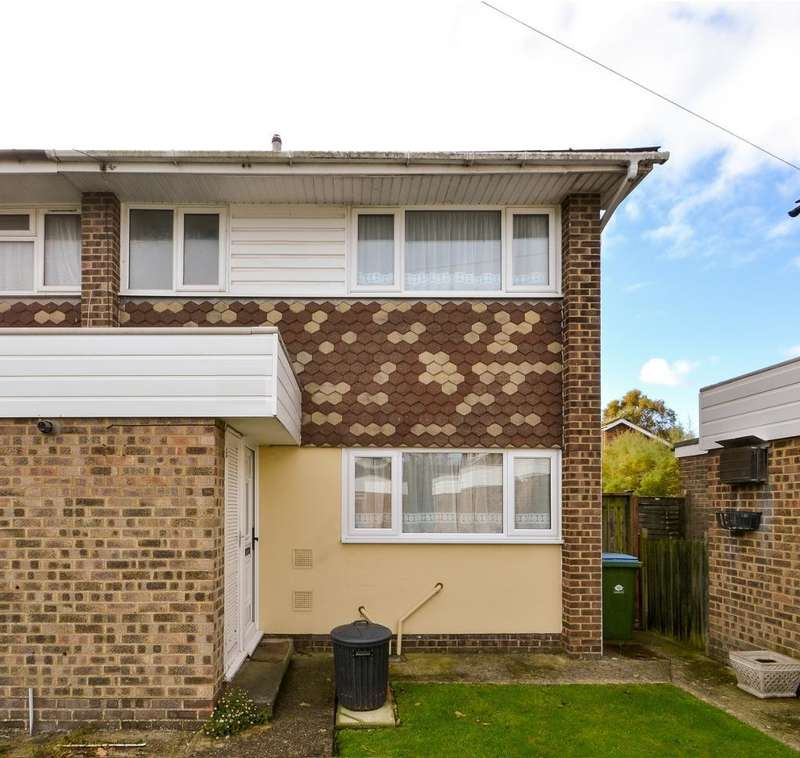 3 Bedrooms End Of Terrace House for sale in Frandor Road, North Bersted, Bognor Regis, West Sussex, PO21 5TP
