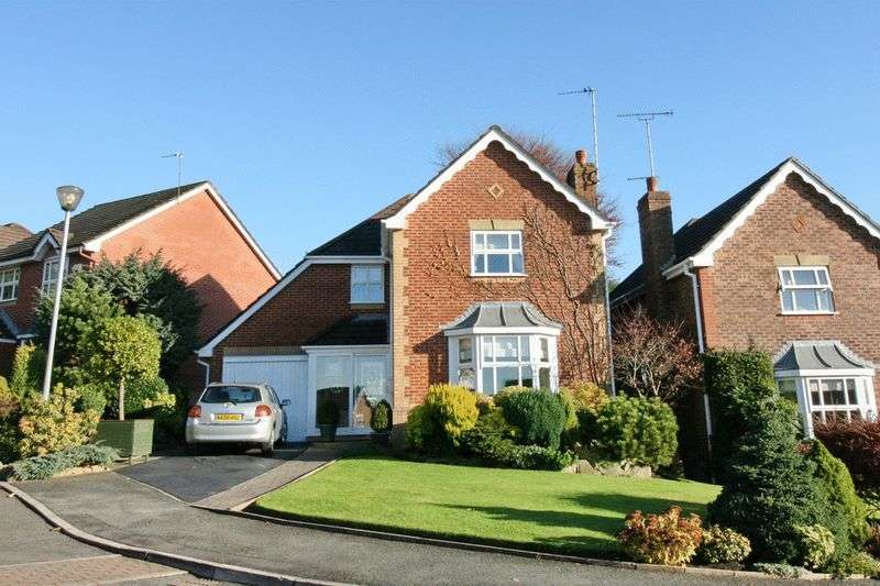 4 Bedrooms Detached House for sale in Redwater Close, Manchester