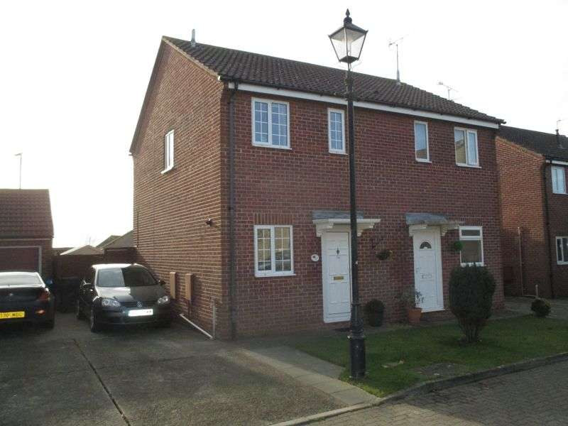 2 Bedrooms Semi Detached House for sale in Sleight Close, Yeovil
