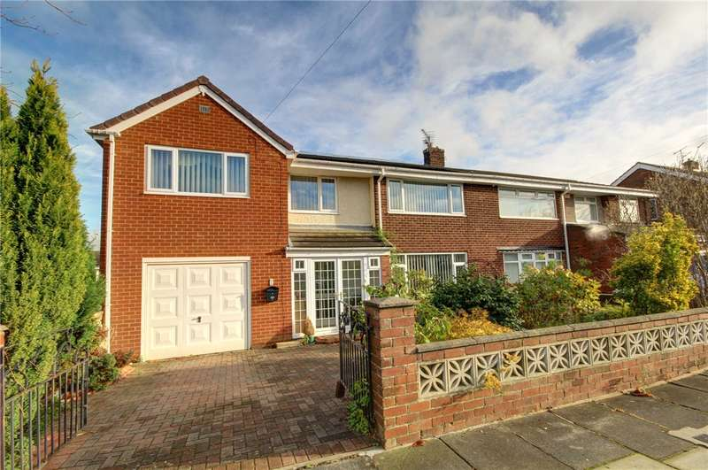 5 Bedrooms Semi Detached House for sale in Richmond Road, Newton Hall, Durham, DH1