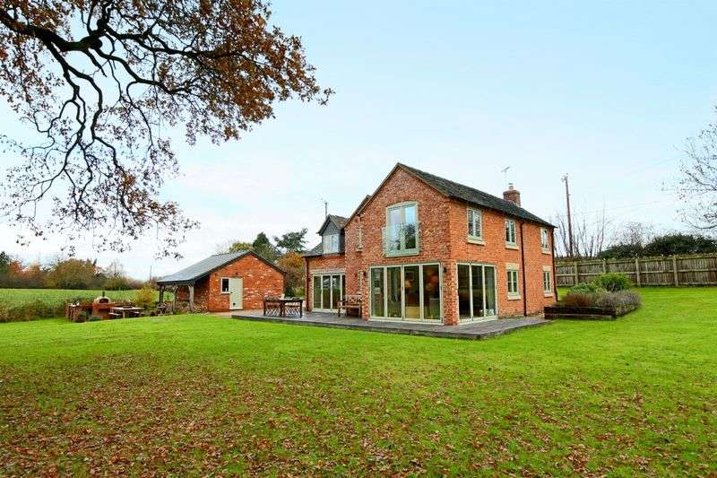 3 Bedrooms Detached House for sale in Longhill Lane, Hankelow, Audlem