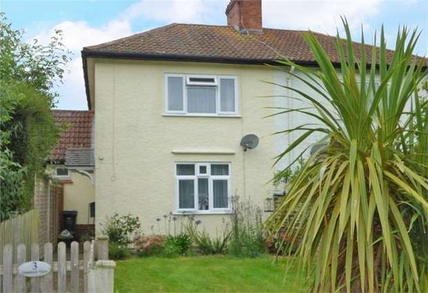 2 Bedrooms Semi Detached House for sale in Quantock View, Kilve, Bridgwater, Somerset