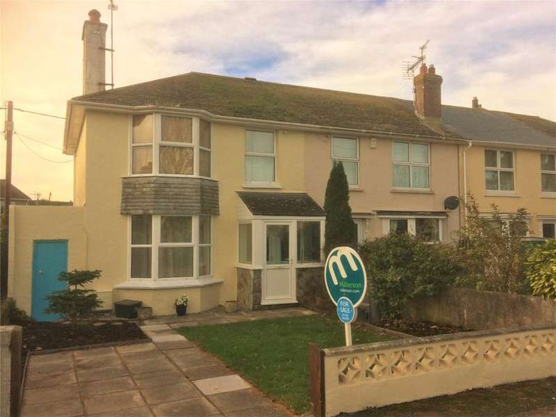 3 Bedrooms End Of Terrace House for sale in Parc Letta, Heamoor, Nr. Penzance