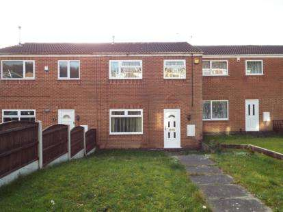2 Bedrooms Terraced House for sale in Jarrow Gardens, Top Valley, Nottingham, Nottinghamshire