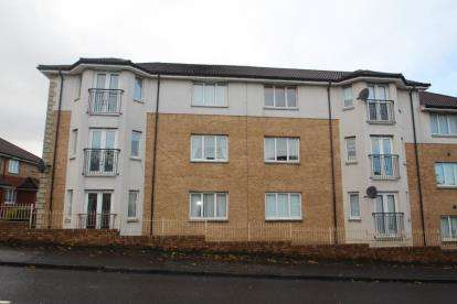 2 Bedrooms Flat for sale in Invergordon Place, Airdrie, North Lanarkshire