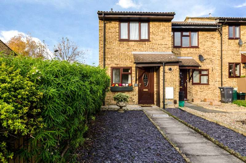 2 Bedrooms End Of Terrace House for sale in Wren Close, Orpington, BR5 3NU
