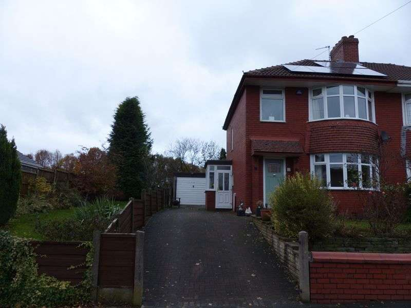 3 Bedrooms Semi Detached House for sale in Bentley Avenue, Slattocks