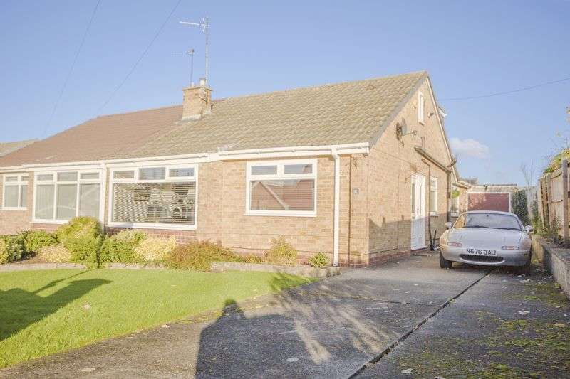 3 Bedrooms Semi Detached Bungalow for sale in Fountains Crescent, Eston, Middlesbrough, TS6 9DF