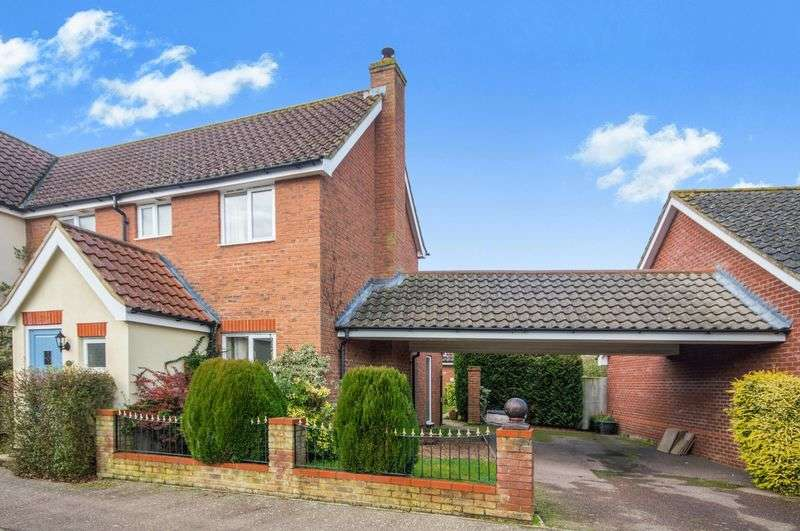 3 Bedrooms Semi Detached House for sale in Chestnut Road, Norwich NR15