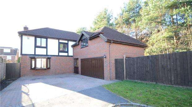 5 Bedrooms Detached House for sale in Okingham Close, Heath Park, Sandhurst