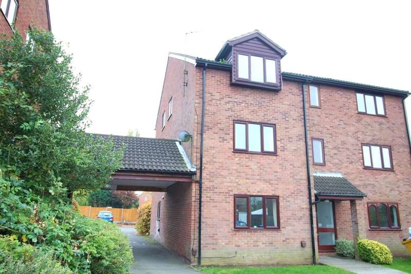 1 Bedroom Flat for sale in Willow Close, Burbage, Hinckley, LE10