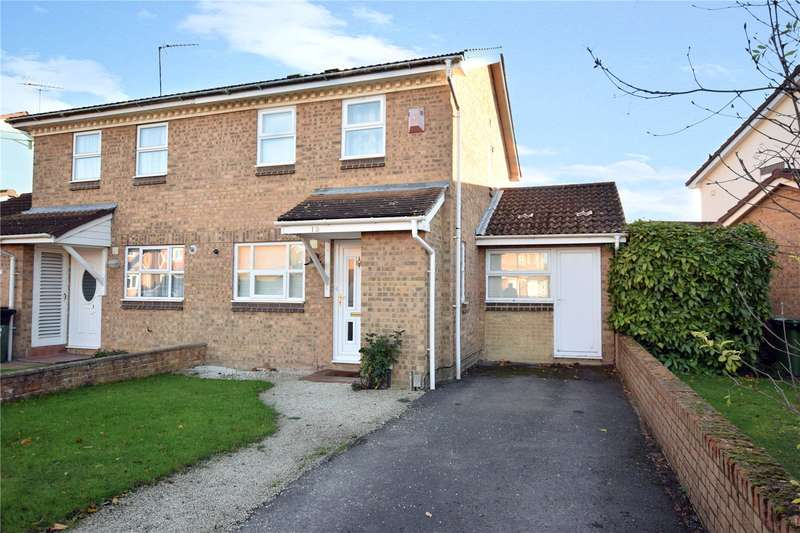 3 Bedrooms Semi Detached House for sale in Beedon Drive, Bracknell, Berkshire, RG12