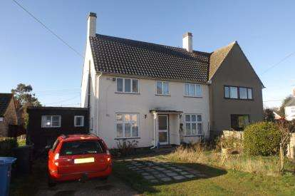 3 Bedrooms Semi Detached House for sale in Stutton, Ipswich, Suffolk