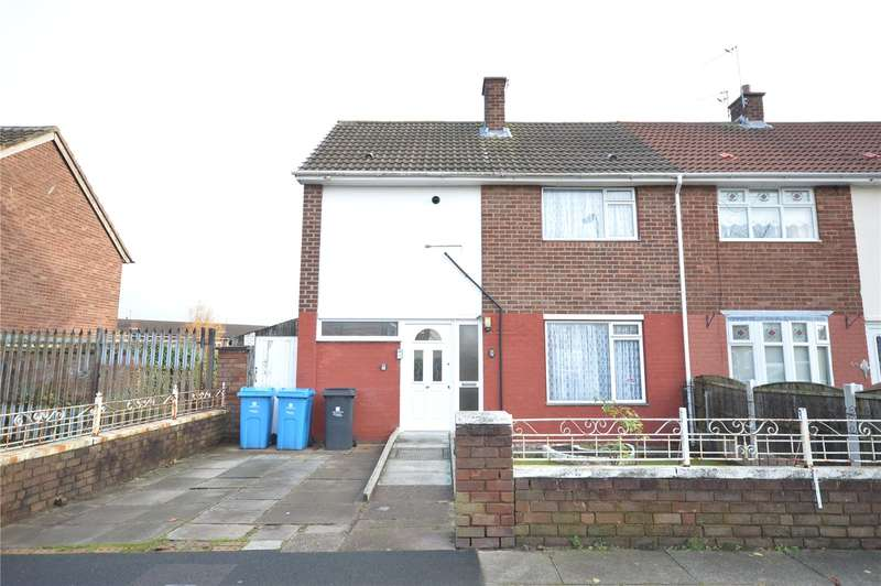 3 Bedrooms Semi Detached House for sale in Holland Road, Halewood, Liverpool, L26