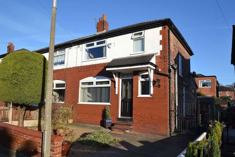 3 Bedrooms Semi Detached House for sale in Overlinks Drive, Salford