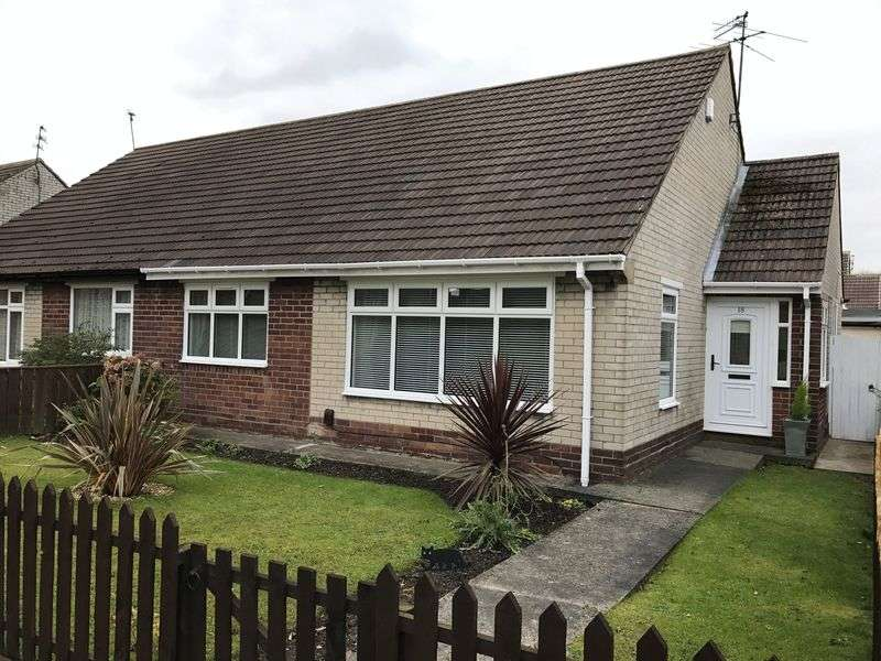 2 Bedrooms Semi Detached Bungalow for sale in Acacia Grove, Hebburn