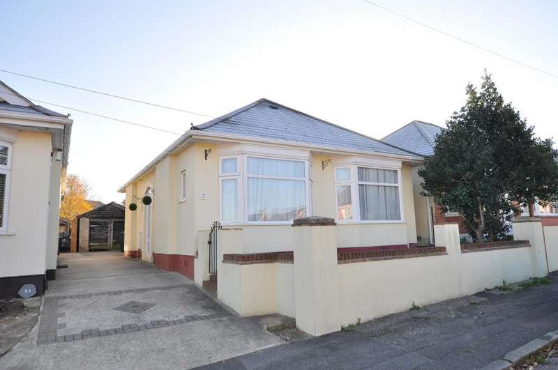 3 Bedrooms Detached Bungalow for sale in Bournemouth, BH10 6JD