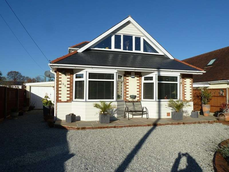 5 Bedrooms Detached Bungalow for sale in Poole Lane, Kinson, Bournemouth