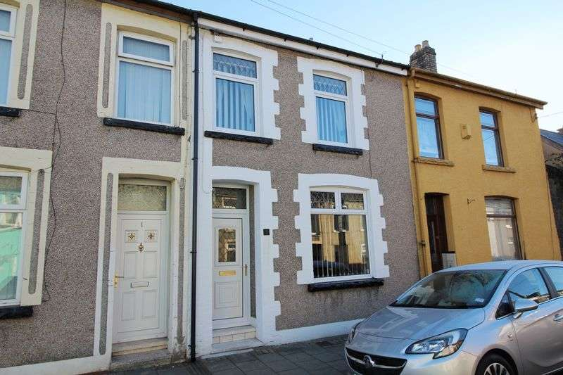 2 Bedrooms Terraced House for sale in New Houses, Foundry Place, Trallwn, Pontypridd, CF37 4SA