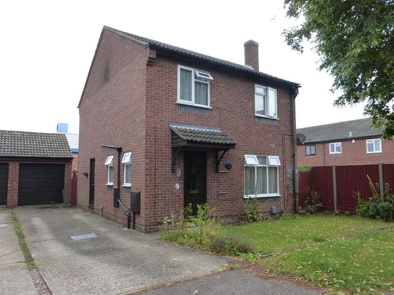 3 Bedrooms Detached House for sale in Ramillies Close, Kempston, Bedford, MK42