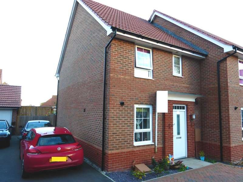 3 Bedrooms End Of Terrace House for sale in Townhill Square, Fernwood, Newark, NG24