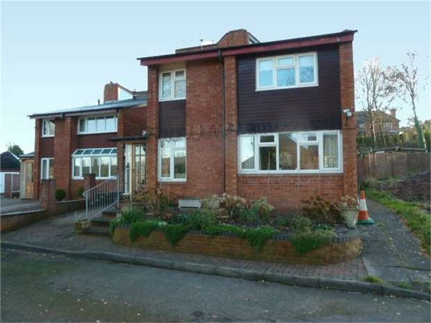 4 Bedrooms Link Detached House for sale in Berrington Gardens, Tenbury Wells, Worcestershire