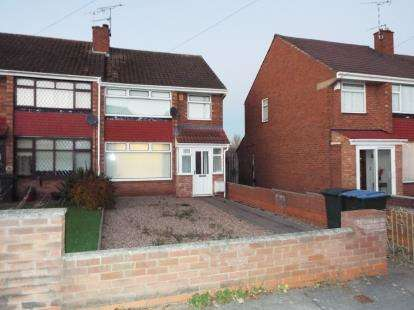 3 Bedrooms End Of Terrace House for sale in Armscott Road, Coventry, West Midlands