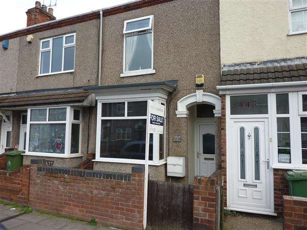 3 Bedrooms Terraced House for sale in WEELSBY STREET SOUTH, GRIMSBY