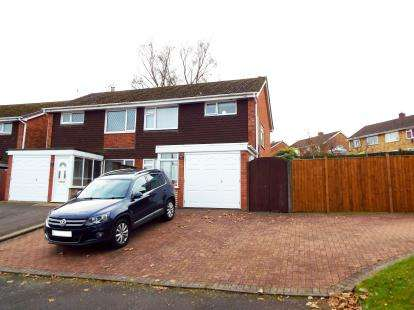3 Bedrooms Semi Detached House for sale in Helston Close, Stourbridge, West Midlands