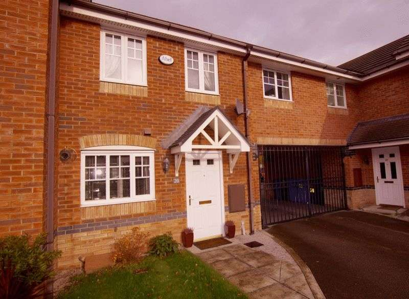 2 Bedrooms Terraced House for sale in Chariot Drive, Brymbo, Wrexham