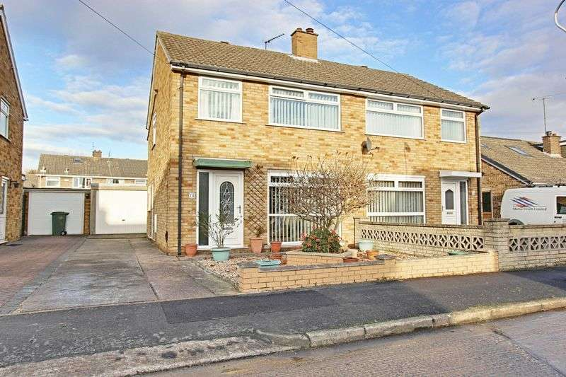 3 Bedrooms Semi Detached House for sale in Loxley Green, Hull