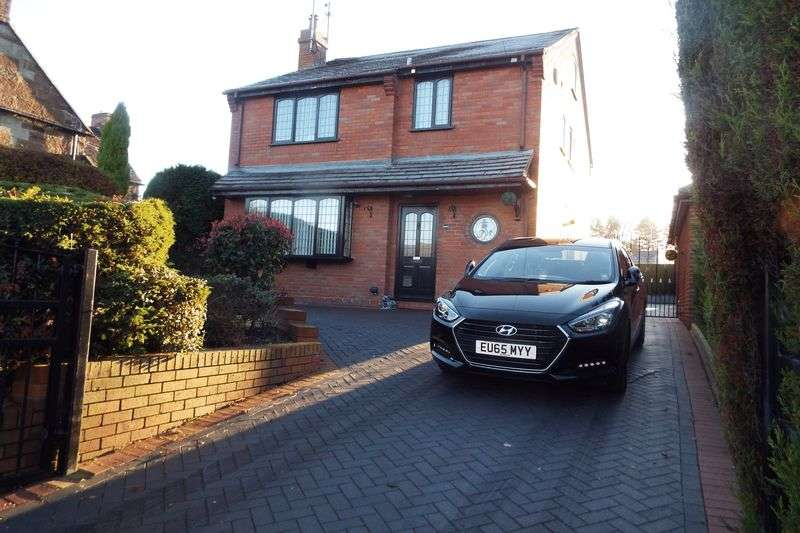3 Bedrooms Detached House for sale in Uttoxeter Road, Blythe Bridge, Stoke-On-Trent