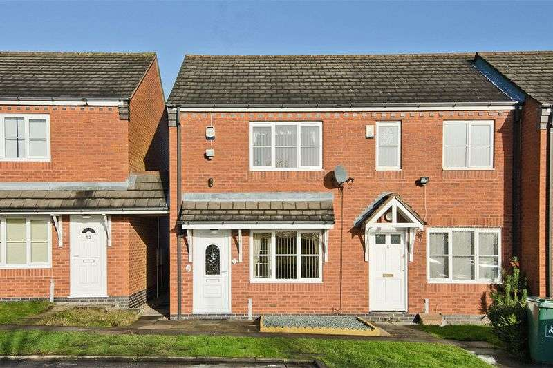 2 Bedrooms House for sale in Elliott Close, Cannock