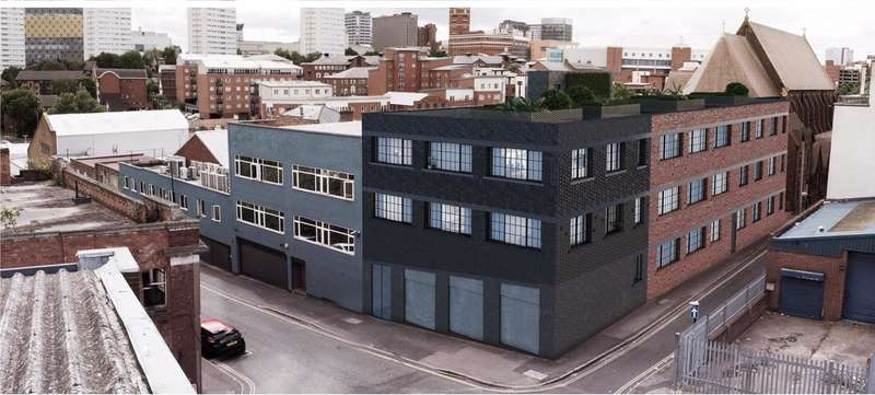 2 Bedrooms Property for sale in Camden Street, Jewellery Quarter, Birmingham