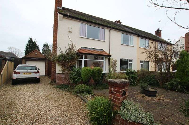 3 Bedrooms Semi Detached House for sale in Overdale Avenue, Barnston