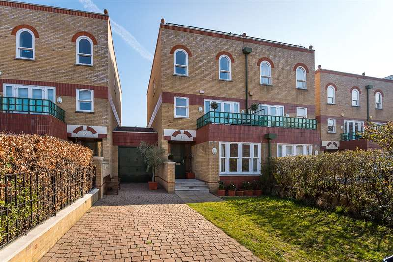 4 Bedrooms House for sale in Trinity Church Road, Barnes, SW13