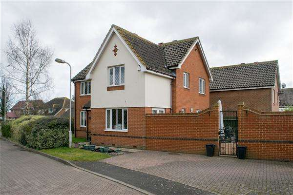 4 Bedrooms Detached House for sale in Oaklands Court, Cliffsend