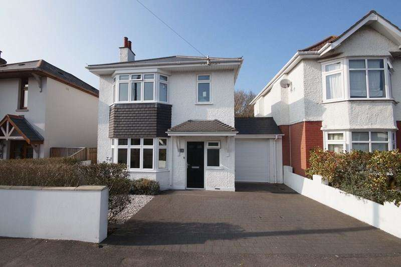 4 Bedrooms Detached House for sale in Sherwood Avenue, Whitecliff, Poole