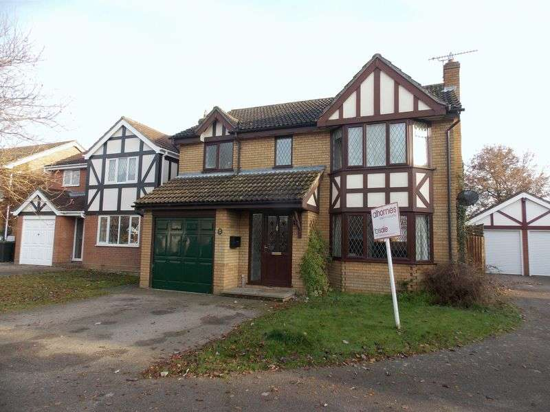 4 Bedrooms Detached House for sale in Wyatt Close, Elmswell